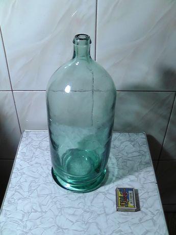 бутыль винтажный из толстого стекла
