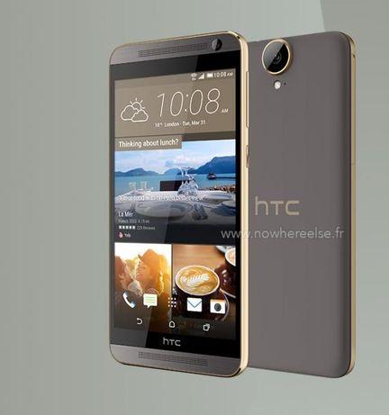 """HTC One E9 Plus gold dual sim 5.5"""" como novo na cx livre com fatura"""