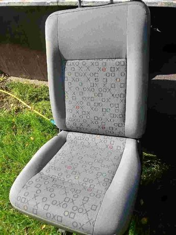 Fotel siedzenie t5 t6 caravelle transporter pojedyncze jedynka obalany