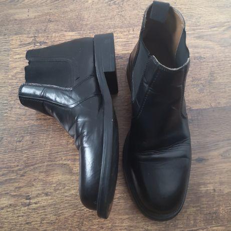 Oaktrak! Skórzane buty męskie sztyblety r.43