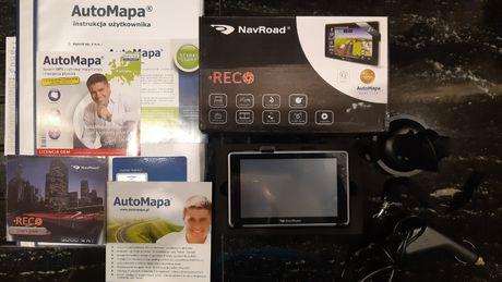 Nawigacja NAVROAD RECO z videorejestratorem, AUTOMAPA EUROPA