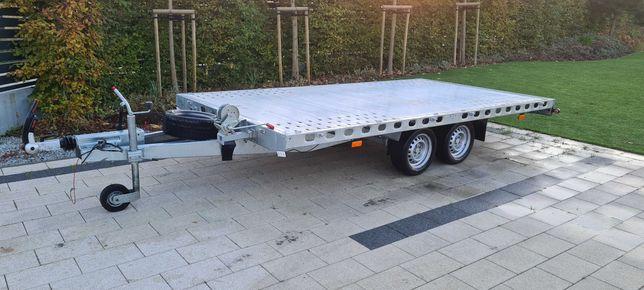 laweta przyczepa Multi trailer 3500 kg od ręki prawie nowa