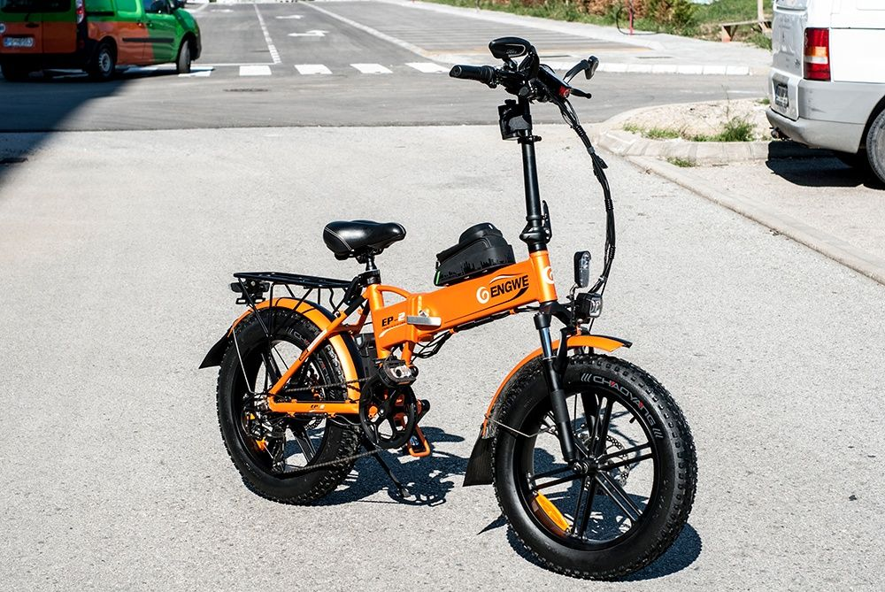 Электрический складной велосипед 500 Вт 40 км/ч - ENGWE EP-2 Киев - изображение 1