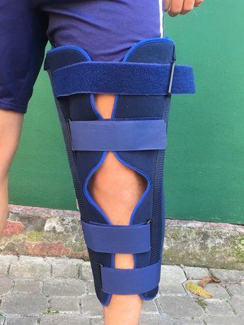 Бандаж Orthopedic M для жёсткой фиксации колена наколенник ортез тутор