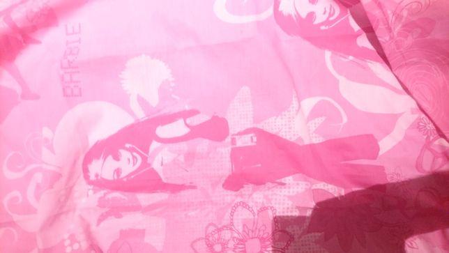 Firanka dla dziewczynki rozowa Barbie