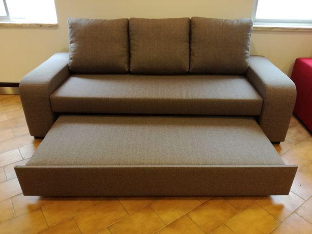 Sofá cama Redondela com 230 cm, novo de fábrica