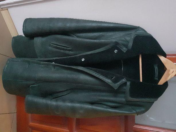 kożuch męski - kurtka za biodra