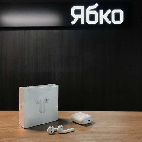 Нові Apple AirPods 2 з гарантією від Ябко
