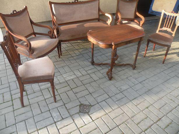 Sofa ,2 trony , 2 krzesła 1830 rok,Ideał!!!