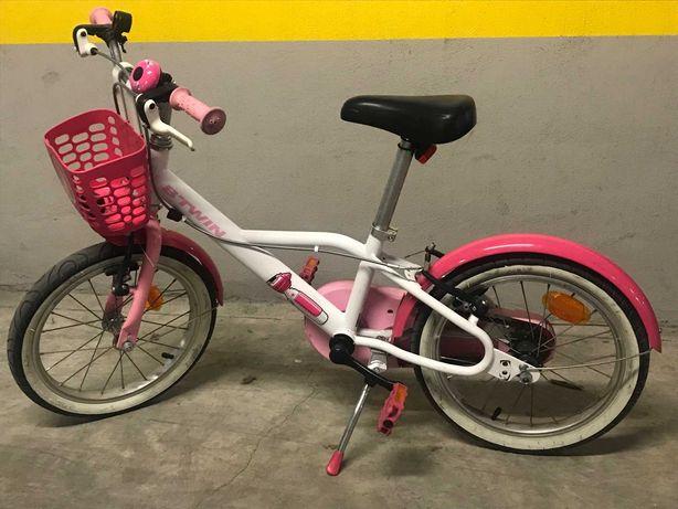 Bicicleta menina, roda 16