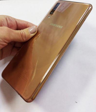 Samsung Galaxy A7 GOLD Мощный телефон 4/64Гб / 24Мп
