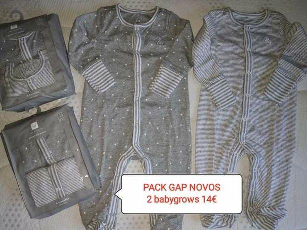 Pack babygrows Gap novos tam 6-9 meses
