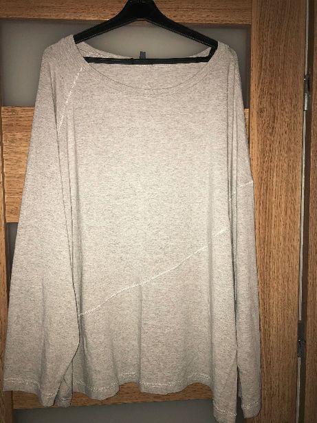 Szara bluzka nietoperz r. 52-54
