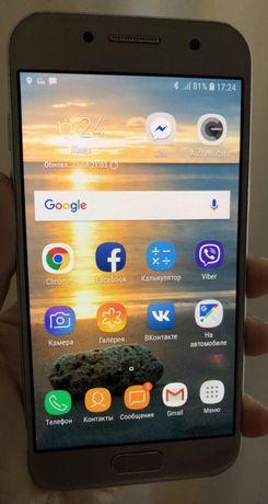 Samsung Galaxy A3 2017 SM-A320F смартфон золотой цвет