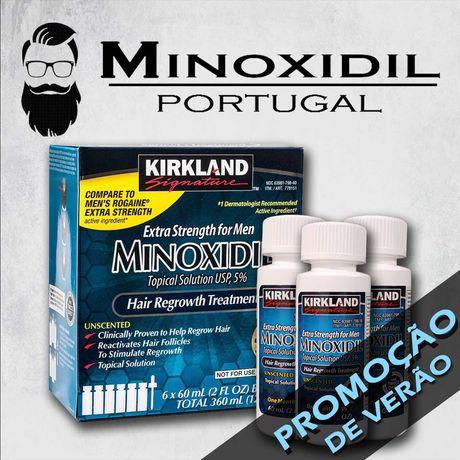 Minoxidil 5% Kirkland | PROMOÇÃO DE VERÃO | Minoxidil Portugal