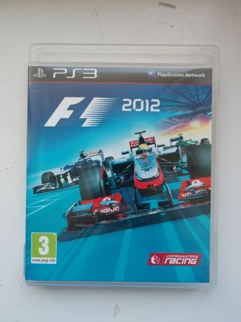 F1 2012 PS3 Playstation 3