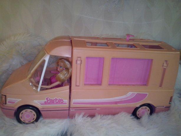 Barbie Magic Van Mattel przyczepa kempingowa samochód lalka vintage