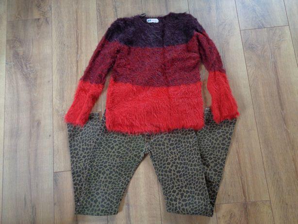 Zestaw spodnie plus sweter H&M r.146