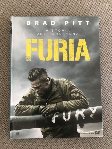 Furia DVD / wydanie książkowe /