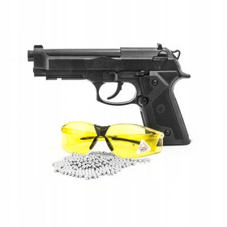 Wiatrówka Pistolet BERETTA elite2 +ZESTAW +OKULARY +CO2