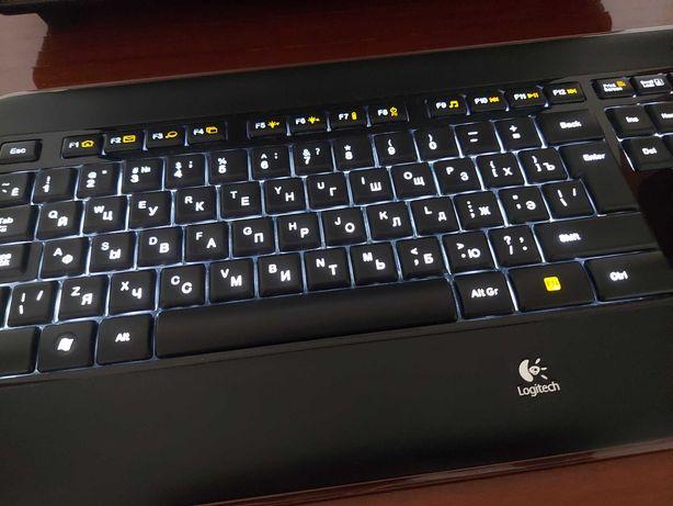 Беспроводная клавиатура Logitech K800