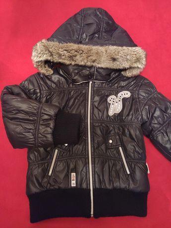 Куртка wojcik войчик войчек войцик зимняя оригинал для девочки детская