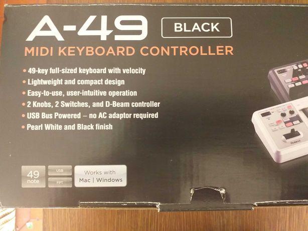 Teclado A-49 MIDI Keyboard Rolland