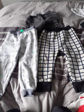 Chłopięce bluzki i spodnie 98