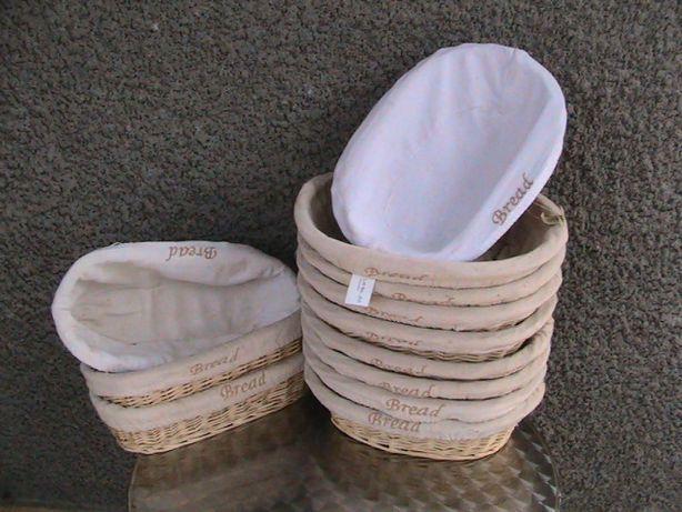 Корзинки плетеные с вербы овальной формы с чехлами