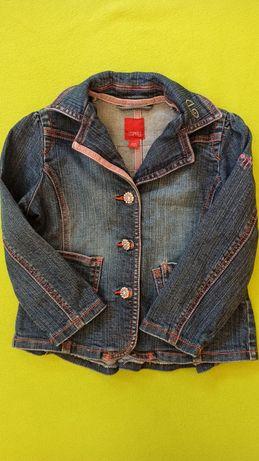Джинсовая куртка джинсовый пиджак esprit на девочку 2-3 года