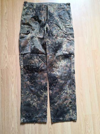 Spodnie demobil flecktarn wojskowe moro