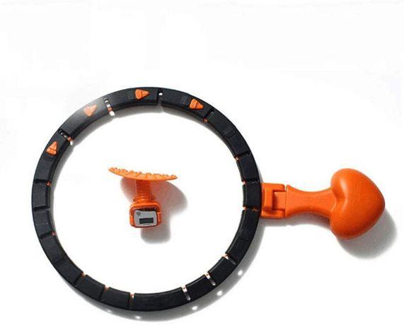 OUTLET - inteligentne hula hoop hop odchudzające z obciążnikiem