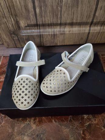 Туфли красивые (Чехия) Размер 28 ( стелька 18 см ) next zara hm