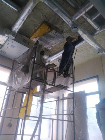 Ocieplanie pianka poliuretanową dachu, stropu, poddaszy itp