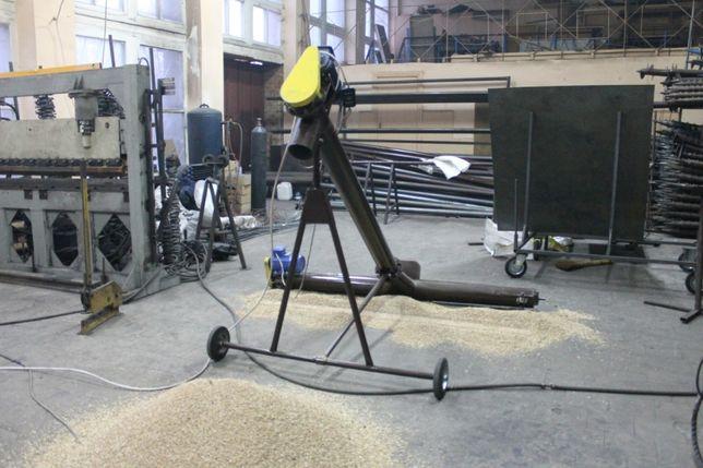 Шнековый транспортер, погрузчик, (винтовой конвейер) диаметром 159 мм