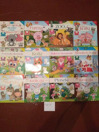 Książki dla dzieci plus naklejki
