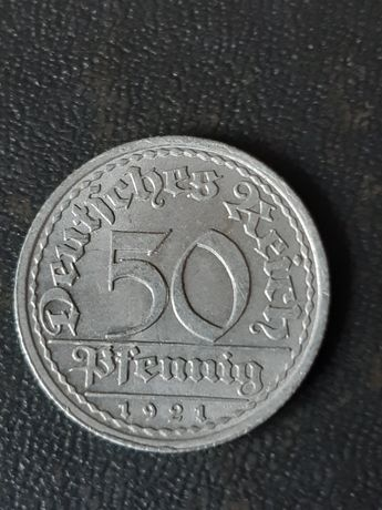 50 пфенниг 1921 года