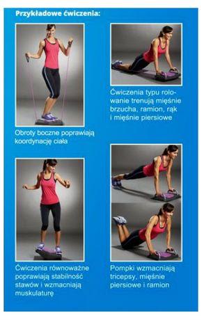 Wielofunkcyjna platforma do ćwiczeń BODYMIRACLE