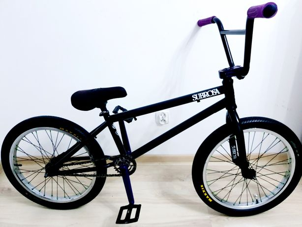 "Rower BMX SUBROSA SALVADOR, koła 20"", rama 20,5"", street, stunt, dirt"