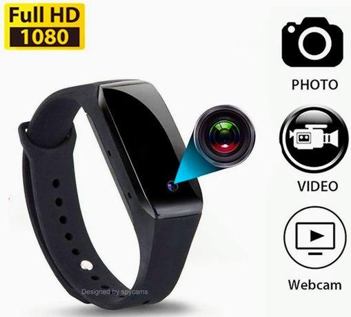 Экшн Камера - Браслет (мини видеокамера) 30fps/HD 1080P. Новая!