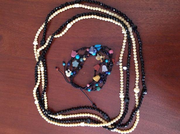 Colar comprido Tous, pulseira de gemas Tous original