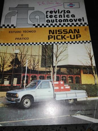 Revista técnica Nissan pick up