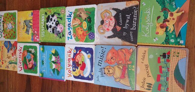 Książki dla najmłodszych twarde kartki