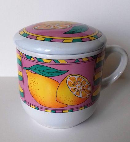 Чашка заварник , керамическая, новая