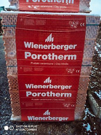 Pustak ceramiczny Porotherm 25P+W - Wienerberger