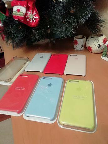 Чехол чехлы 5шт. чохол Silicone Case для IPhone 7plus/8plus.