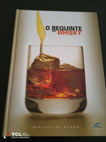 Livro com receitas - O requinte do whisky