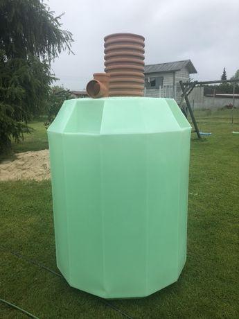 Zbiornik na deszczówkę 1750 l deszczówka oczyszczalnia ścieków