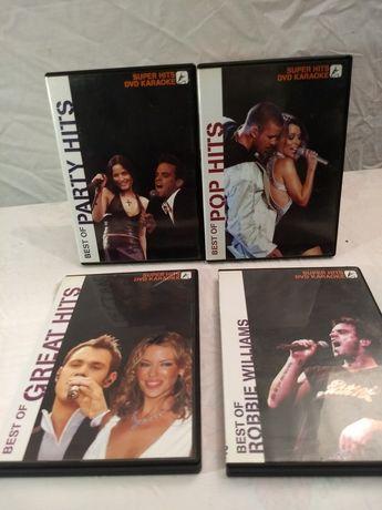 4 DVDs Karaoke Party Pop Hits - A festa em casa!