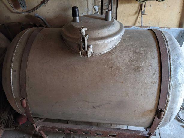 Бочка алюминиевая пищевая 600 литров